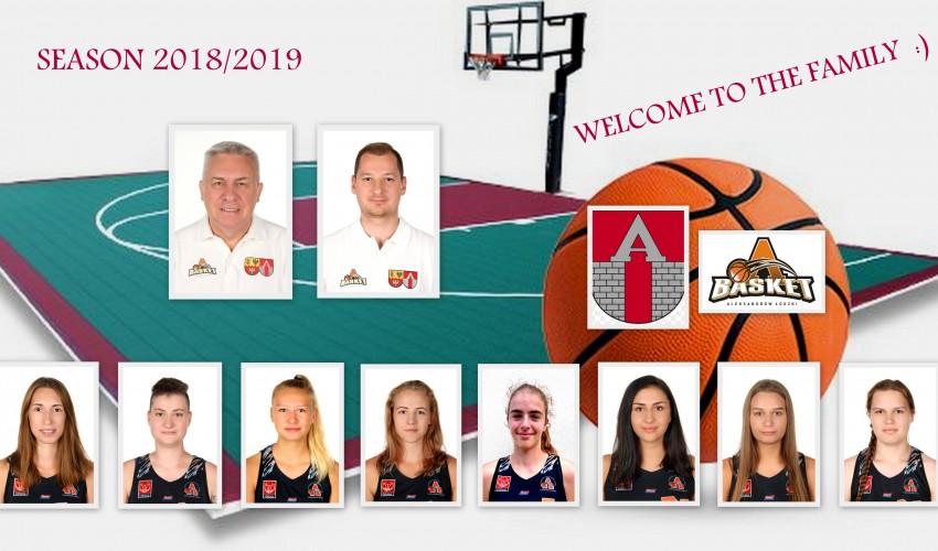 Przedstawiamy nowe twarze w Rodzinie UKS-u Basket :)