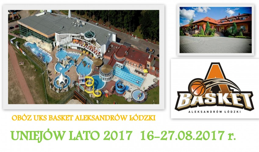 Obóz letni Uniejów 2017 :)
