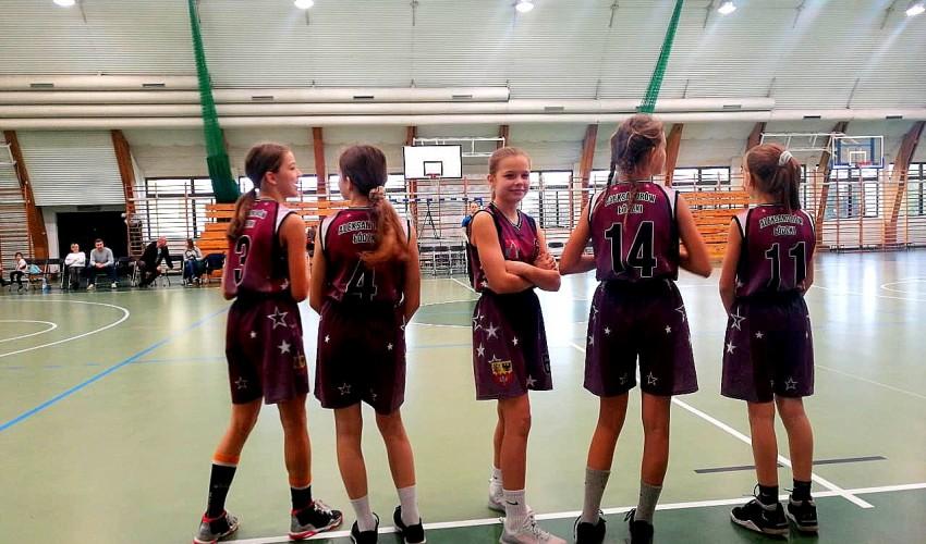 Młodziczki młodsze zadebiutowały w nowym sezonie w Mieście Sportu :)
