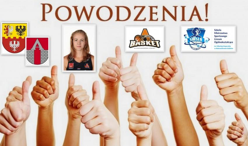 Basketka Pola Kaźmierczak - Kazik