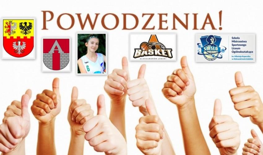 Basketka Zosia Lisiecka