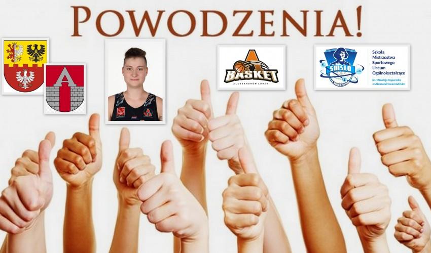 Basketka Natalia Klimczyk - Glima
