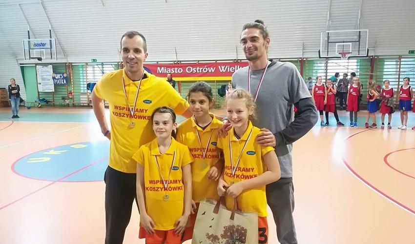 Basketki zdobywają Miasto Ostrów Wielkopolski :)