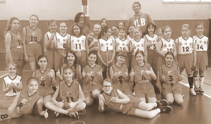 Nasze najmłodsze Basketki dzielnie powalczyły w Łodzi :)