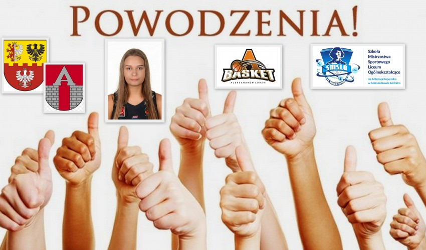 Basketka Justyna Kozarska - Sendi