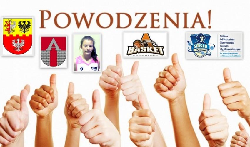 Basketka Anna Kamieniak