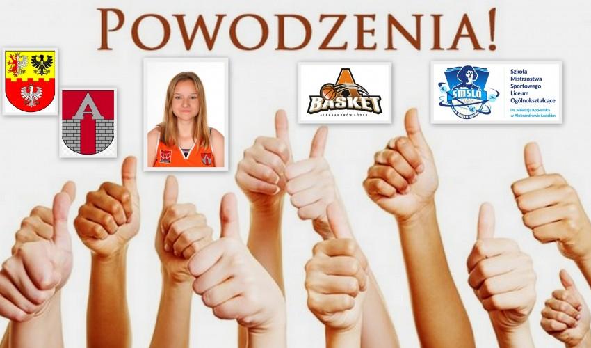 Basketka Zuzanna Trybułowska <3