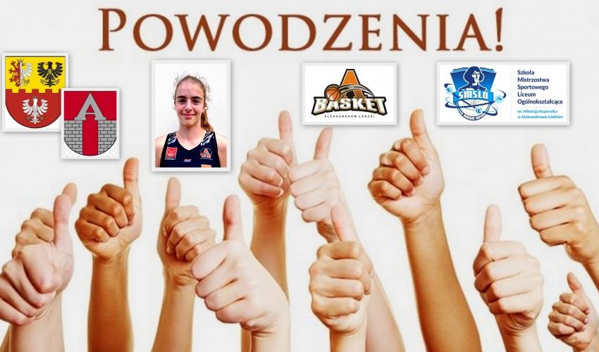 Basketka Aleksandra Pszczolarska - Pszczółka