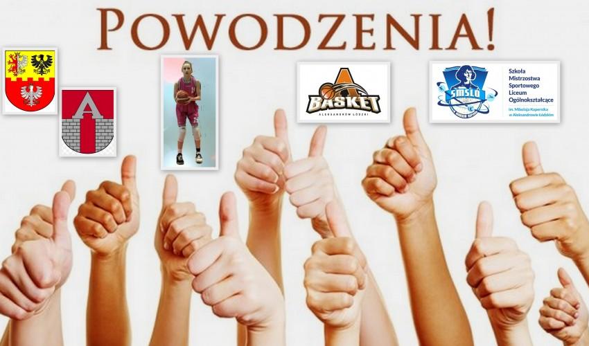 Basketka Aleksandra Stasiełowicz <3
