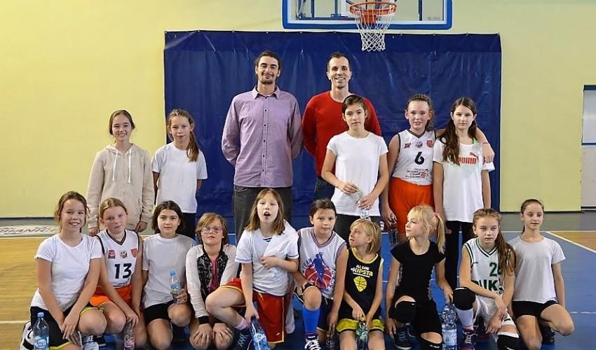 Pierwszy sparing najmłodszych Basketek za nami...