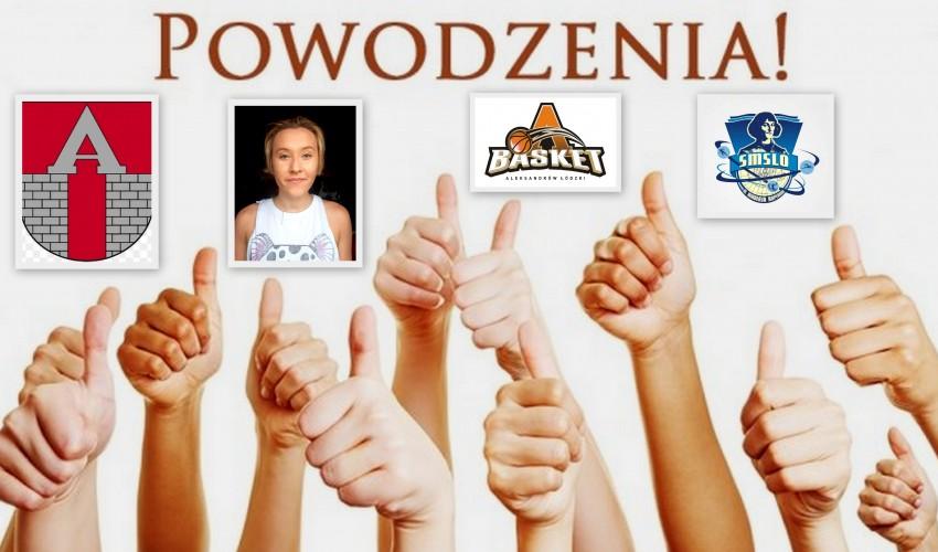 Basketka Kamila Nawrocka -
