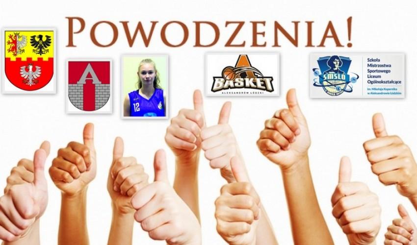 Basketka Wiktoria Jakubiec