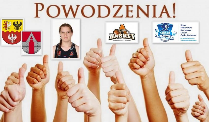 Basketka Agnieszka Cichocka - Agnes