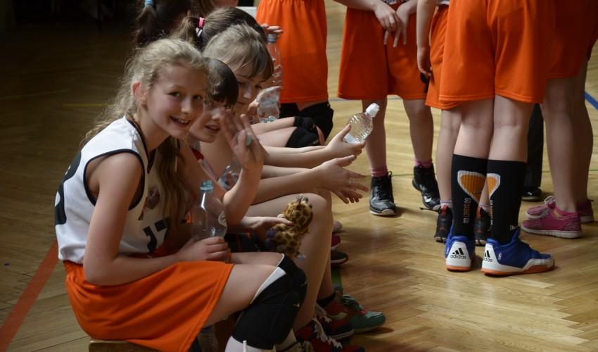 Najmłodsze Basketki nie przestają czarować!